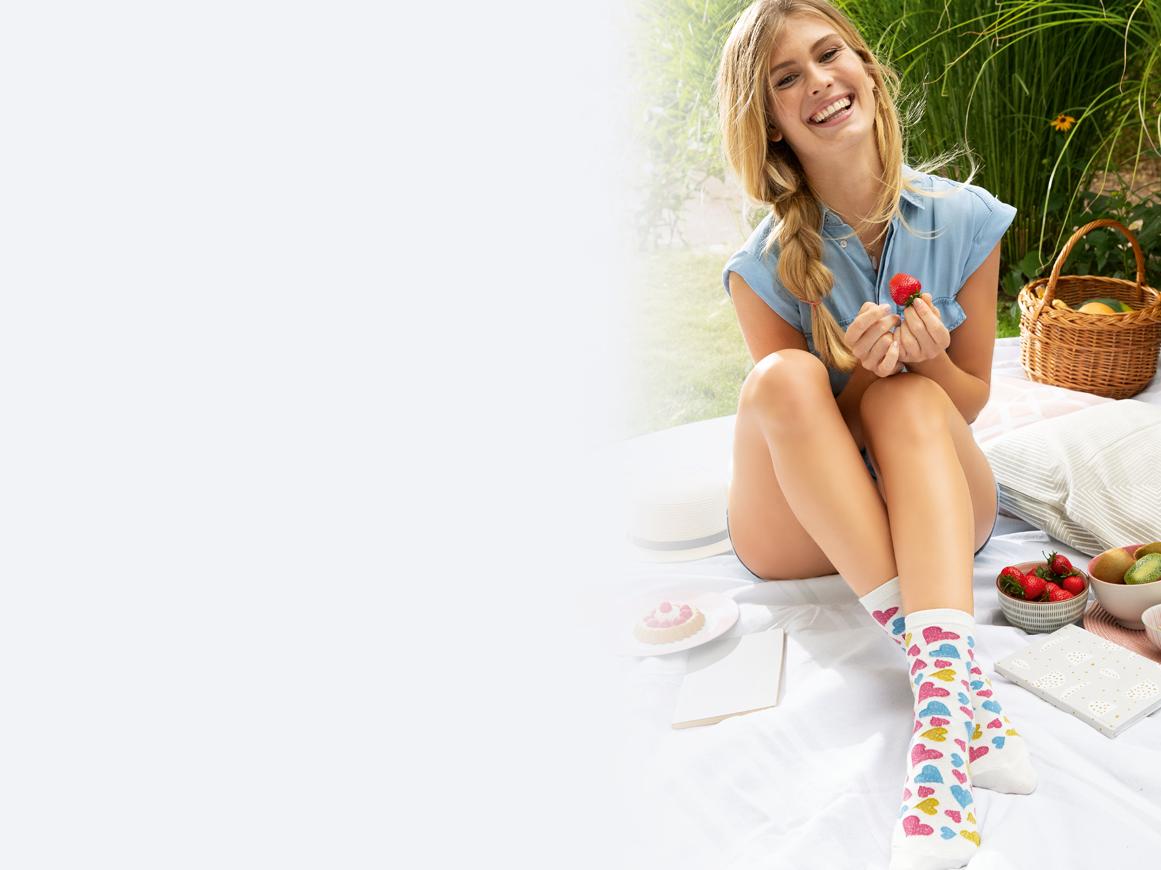 Socken Kniestrümpfe Strick Kategorie